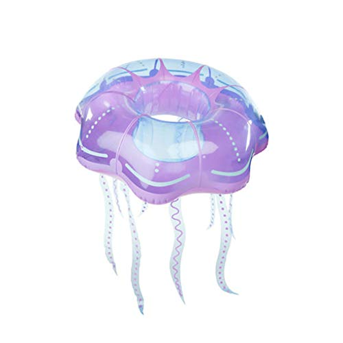 Fantastic Prices! Bling Giant Jellyfish Pool Float – Giant Pool Float, Funny Inflatable Vinyl Summer Pool or Beach Toy