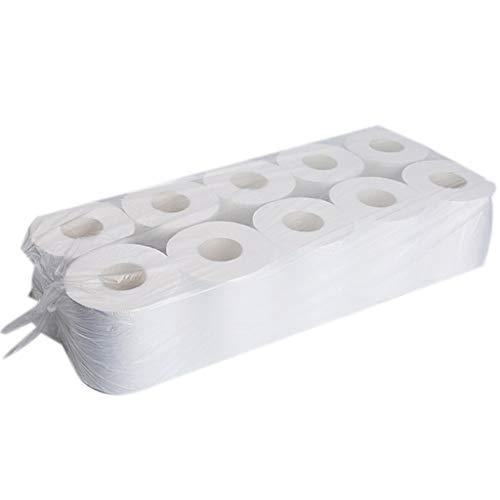 10 rollos de papel higiénico de la familia