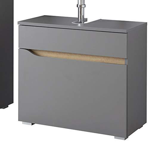 Pelipal - Capri - Waschbecken-Unterschrank, 60 cm, 1 Auszug, Syphonausschnitt - Badmöbel