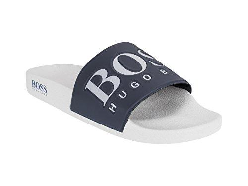 Flipflops/Sandalen/Badeschuhe Aus Gummi Solar_Slid_Logo 10208293 01 (42, Open Grey 060)
