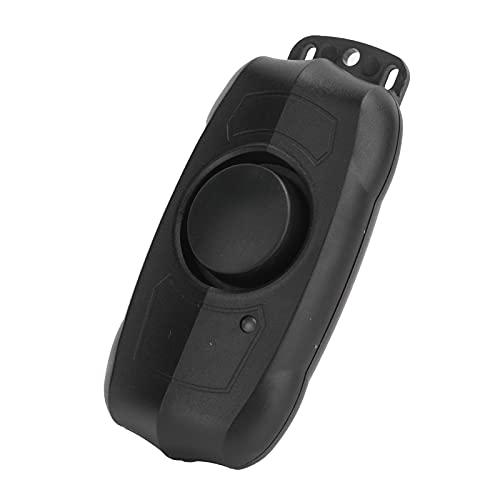 GUSTAR Alarma de Bicicleta, Control Remoto Inalámbrico ABS 150dB Alarma de Seguridad Compacta para Motocicleta IP55 Impermeable para Scooters Eléctricos para Ventana para Bicicletas Eléctricas