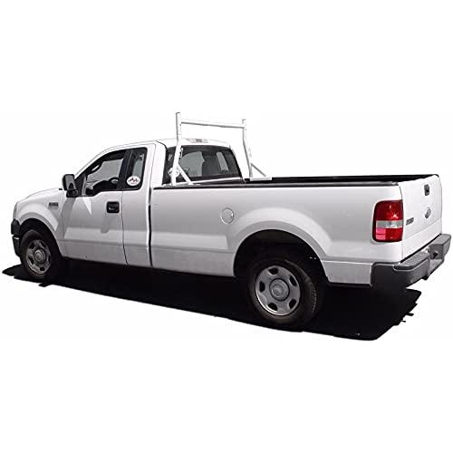 AA-Racks X35-A Single-bar Truck Rack Cargo Pickup Contractor Matte White