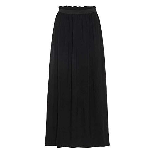 VERO MODA Damen VMBEAUTY Ankle Skirt NFS NOOS Rock, Black, XS