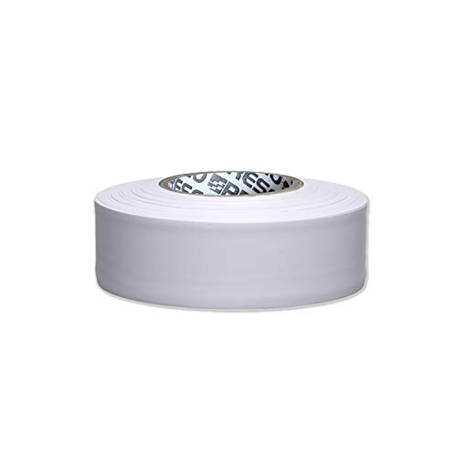 Presco Arctic Roll Flagging Tape: 1-3/16 in. x 300 ft. (Weiß)