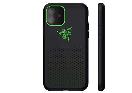 Razer Arctech Pro Black THS Edition - für Apple iPhone 11 (Schutzhülle mit Thermaphene Perfürmance Technologie, zertifizierter Schutz bei Stürzen, verbesserte Smartphone Kühlung), Schwarz