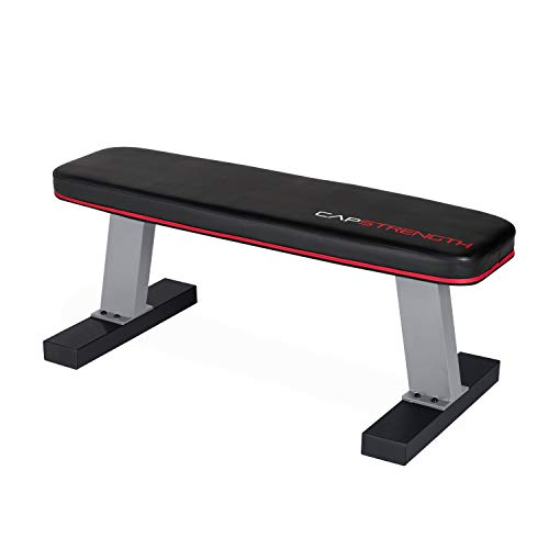 CAP Barbell Flat Utility Bench, Black/Gray