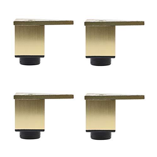 NBSY Armario de baño/Mesa de Centro/Patas de Apoyo para Armario de TV, Patas de Mesa y Silla de aleación de Aluminio, Patas de Repuesto de Armario Ajustables