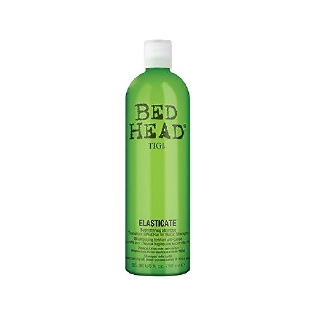 異形オーラル突破口ティジーベッドヘッドシャンプー(750ミリリットル) x4 - Tigi Bed Head Elasticate Shampoo (750ml) (Pack of 4) [並行輸入品]