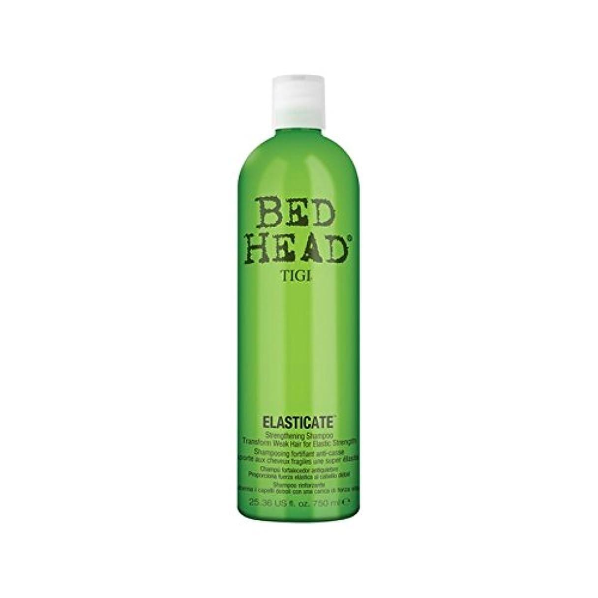 九夫婦薄暗いティジーベッドヘッドシャンプー(750ミリリットル) x4 - Tigi Bed Head Elasticate Shampoo (750ml) (Pack of 4) [並行輸入品]