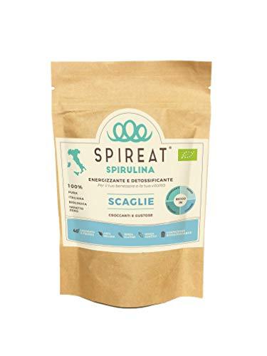 Spireat Spirulina pura 100% Italiana Biologica in formato Raw (non lavorata) confezione da 50g direttamente dal produttore
