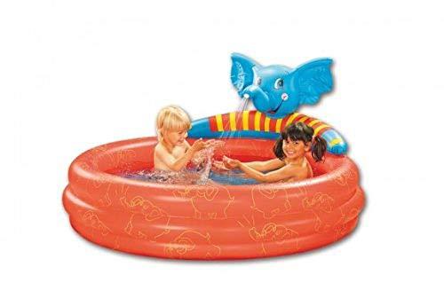 Friedola Gebr. Holzapfel GmbH 12387 - Pool Elefant mit Spruehfunktion 150 cm