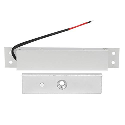 Cerradura de puerta empotrada, práctica cerradura magnética de alta resistencia para puertas de madera Puertas metálicas, puertas cortafuegos y puertas antirrobo