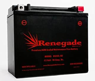 RG20L-BS; Yamaha Snowmobile Battery 900cc 2005, 2006, 2007, 2008, 2009, 2010, 2011, 2012, 2013, 2014, 2015, 2016, 2017 RS90 Vector, RS90 Nytro, RSG90 Rage, RST90 Venture