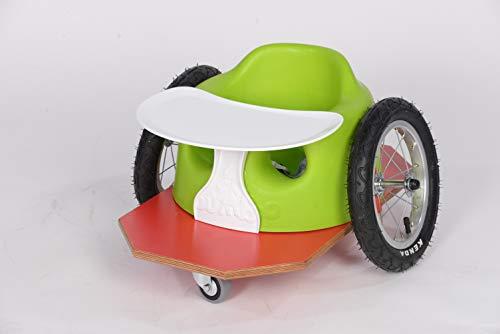 Bumbogo innovativer mini Rollstuhl für Kleinkinder von 12-36 Monate (Blau)