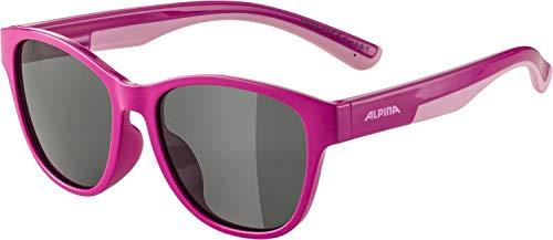 ALPINA Unisex - Kinder, FLEXXY COOL KIDS II Sportbrille, pink-rose gloss, One Size