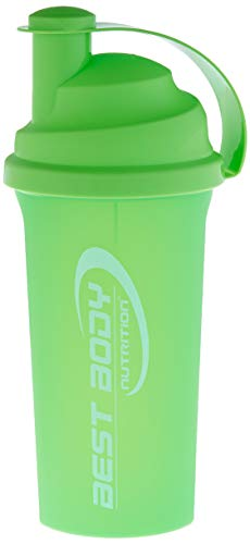 Best Body Nutrition Eiweiß Shaker 700ml, grün
