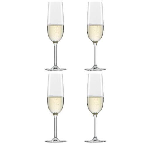 Schott Zwiesel - Sektgläser, Champagnergläser - for You - Glas - 210 ml - 4er Set
