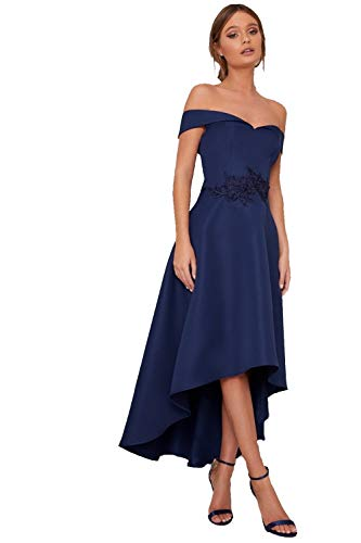 Chi Chi London Chi Chi Amour Marine Kleid 38