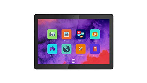 Lenovo TAB M10 Tablet-PC 25,7 cm (10,1 Zoll) HD Display, Qualcomm Snapdragon 429 Prozessor, 32 GB erweiterbar auf 128 GB, 2 GB RAM, WiFi, Android Oreo, Schwarz