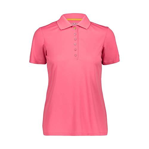 CMP Damen Polo Piquet In Tinta Unita Polohemd, Gloss, 40