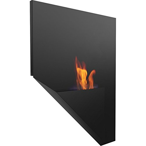 Save %23 Now! Domadeco Portland wall mounted bioethanol fireplace modern style fireplace white color...
