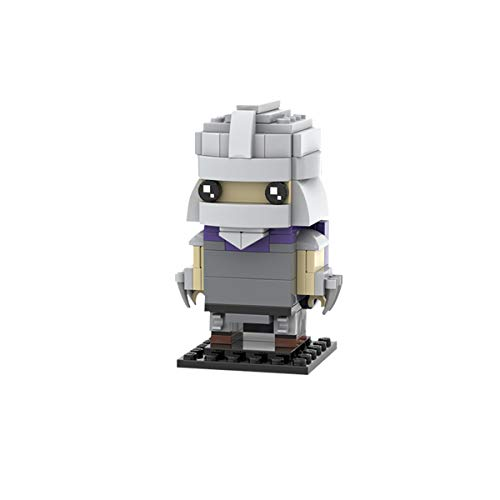 Juego De Juguetes De Bloques De Construcción, Clásico Moc Creator Modelo De Robot De Cabeza Cuadrada Niño Grande Bloques De Construcción Ladrillos Robot Regalo para Niños,Q5