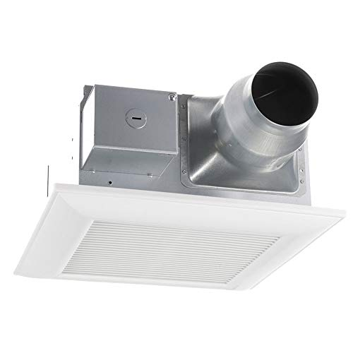 quiet bathroom fan with light