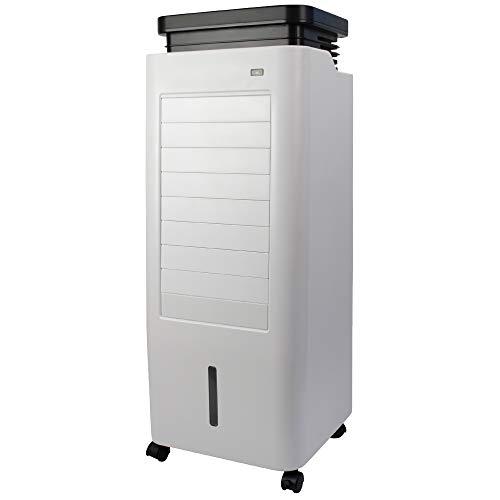 5in1 Arebos Aircooler | 5,5 Liter | Mobiles Klimagerät | Luftreiniger | Ventilator mit Fernbedienung | Luftkühler | Timer | 4 Stufen | inkl. Mückenbekämpfungsfunktion