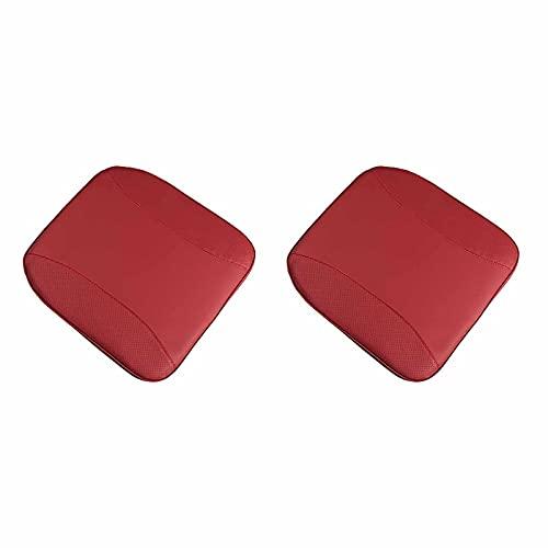 2PCS 자동차 좌석 쿠션 자세 쿠션 좌석 패드 자동차 좌석 좌석 쿠션 패드 레드
