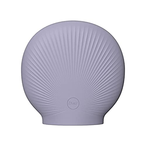 Guanweun Dibujos animados Seashell silicona goma calentador de mano agua caliente bolsa inyección a prueba de explosiones horno microondas calefacción eléctrica calentadores de mano recargable