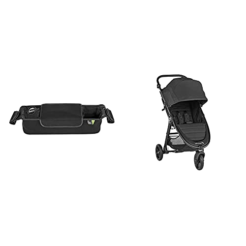 Baby Jogger Parent Stroller Console, Black with Baby Jogger City Mini GT2 Stroller, Jet