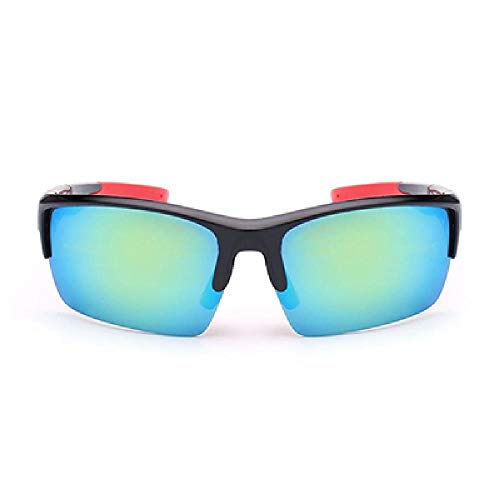 DFVX Gafas de Ciclismo Gafas de Bicicleta Conducir Pesca al aire libre Gafas de sol Deportivas UV400 Gran Lente Gafas Gafas de Sol Oculos Ciclismo