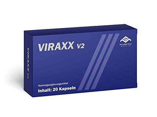 Viraxx V2 | EXTREM | Hergestellt in Deutschland | für Männer | 20 Kapseln
