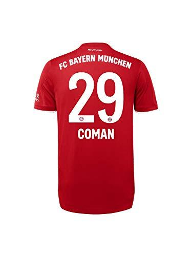 FC Bayern München Authentic Home-Trikot Saison 2020/21, Gr. L, Kingsley Coman