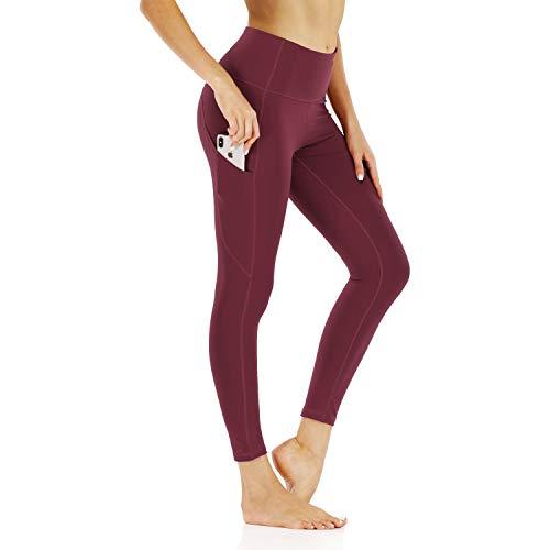 WOWENY Leggings Sportivi Donna, Abbigliamento Fitness Donna Vita Alta Yoga Palestra Leggins Sportivi Pantaloni