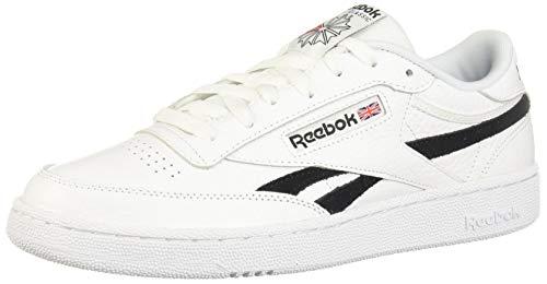 Reebok Herren Club C Revenge MU Sneaker, White/Black/None, 43 EU