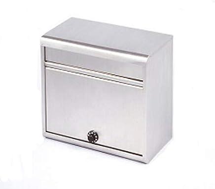【郵便受け 郵便ポスト 郵便受けポスト】 A4封筒も対応する ダイヤル鍵付き 家庭用 ステンレス 郵便ポスト 新聞受け