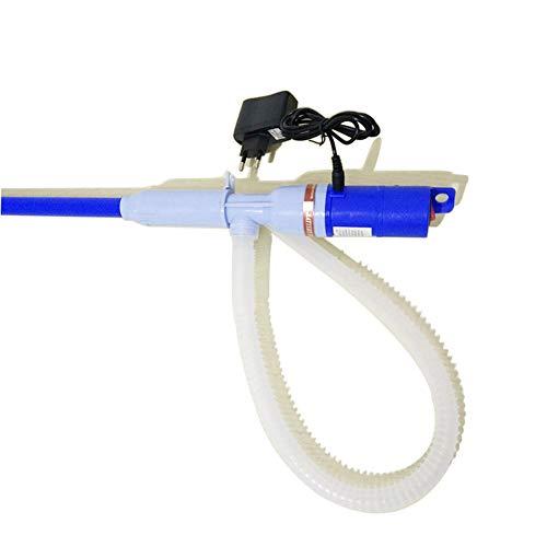 YUCARAC Liquido/Benzina trasferimento sifone Pompa-Grande Spremimento Syphon per Tosaerba e pompaggio Manuale Benzina, Blu