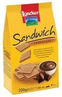 Loacker Sandwich Chocolate Wafers 200 G.