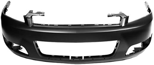 CarPartsDepot, Front Bumper Cover w/Fog Lamp Hole Primed Plastic New Replacement, 352-15610-10-PM GM1000764 89025048?