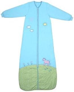 bamb/ú, sin forro, 0,2 tog, disponible en diferentes tama/ños y dise/ños Schlummersack Saco de dormir para beb/é unicornio Talla:130 cm