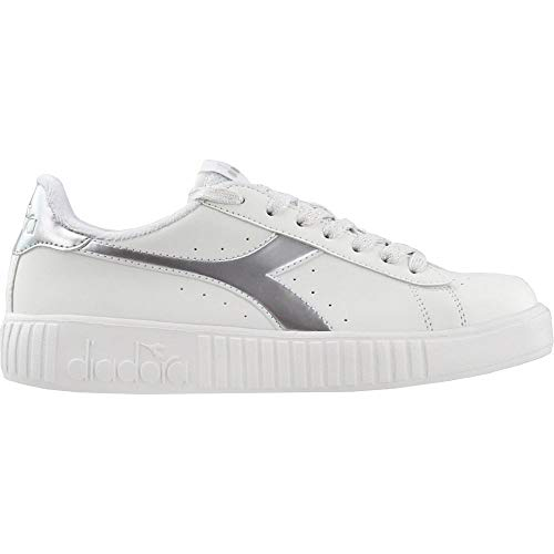 Diadora Womens Game P Step Sneakers Shoes Casual - White - Size 5.5 B