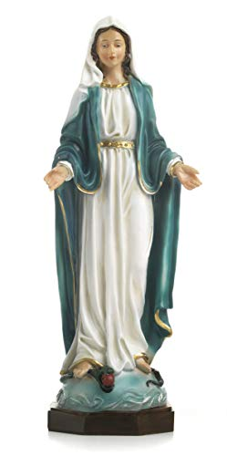 Artículos religiosos de Paben Estatua María Virgen Inmaculada en Resina 30 cm
