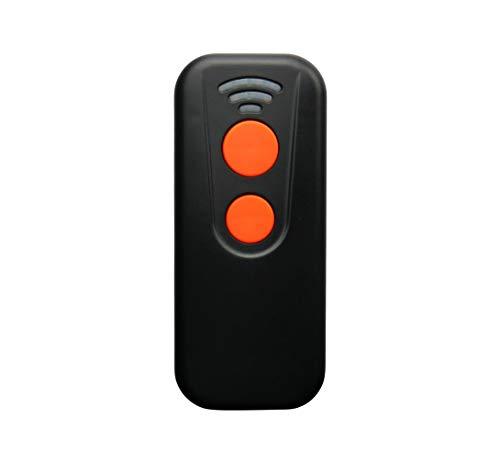Mini Escáner de Código de Barras, Lector de Códigos 1D y 2D de Bolsillo Inalámbrico USB, Lector de Códigos de Barras WiFi y Bluetooth, Lector de Códigos de Barras Profesional Compacto y Cómodo