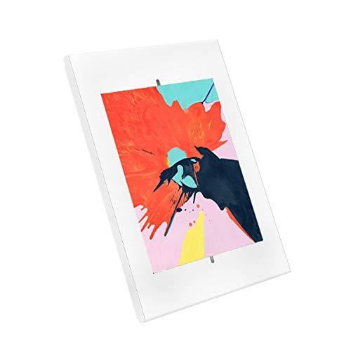 091-3042 Soporte para Tablet iPad 9.7' 10.2' iPad Pro 10.5' Samsung Tab A 10.1' 2019, Blanco