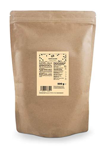 KoRo - Copos de levadura 500 g - Copos de levadura nutritivos y veganos, a base de melaza y especias, con sabor a queso - Sustituto del queso
