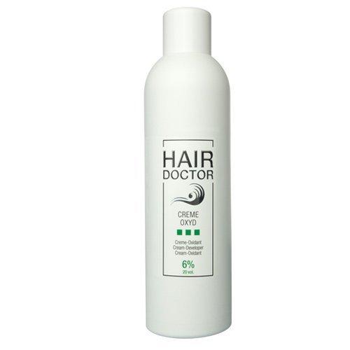 Hair Doctor Creme Oxyd Wasserstoffoxyd 6 Prozent Entwickler für ideale Farbergebnisse, 1er Pack (1 x 1000 ml)