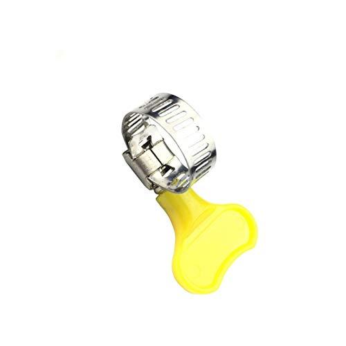 jhhzpd Accessoires d outils 10pcs 8mm-12mm   10-16mm   16-25mm   19-25mm   19-29mm Type de Tuyau de Tuyau avec poignée, Serre-tuyaux en Acier Inoxydable 304 serrer (Size : 18 to 32mm)