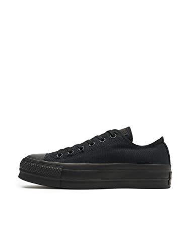 "Converse All Star Damen-Sneakers ""Chuck Taylor"", knöchelfrei, Schwarz - Black Mono - Größe: 36 EU"
