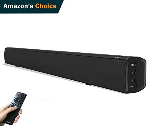 LONPOO 609B 20W*2 Slim TV altavoz soundbar, Bluetooth Barra de sonido